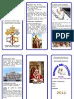 Triptico-el Papa de Roma