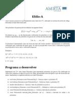 E-FolioA - Desenvlvimento de Software
