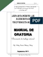 Manual de Oratoria 2012