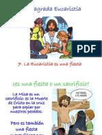 La Eucaristía es una fiesta