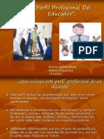 Perfil profesional del educador''