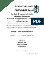 PROYECTO DE DISEÑOPRODUCION DE HONGOS COMESTIBLES