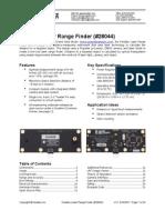 LaserRangeFinder-v1.0