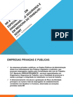 NR 4 – SERVICOS ESPECIALIZADOS EM ENGENHARIA DE