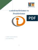 Constructivismo vs Positivismo