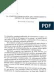 LA CONSTITUCIONALIZACIÓN DEL ORDENAMIENTO JURÍDICO