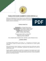 FUNDACIÓN PADRE HUMBERTO OSORIO REFINO A