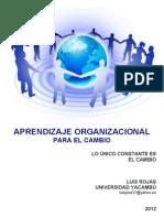 Aprendizaje Organizacional Para El Cambio