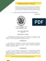 RESOLUCIÓN N°  2011-0051