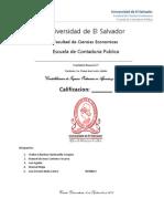 Contabilizacion de Ingresos Ordinarios en Agencias y Sucursales