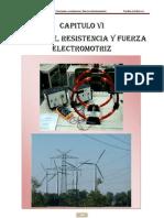 CORRIENTE, RESISTENCIA Y FUERZA ELECTROMOTRIZ