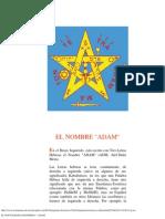 El Pentagrama Esoterico - Adam