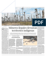 Mineria Ilegal Destruye Pueblos Indigenas