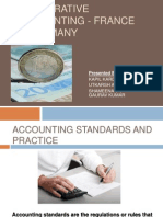 Comparative Accounting- France and Germany (Group 1)
