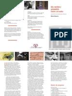 Arte, escritura y  psicoanálisis.  Creación y acto analítico. Seminario de María Navarro