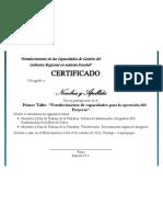 Modelo - Certificado