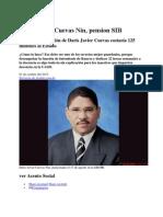Daris Javier Reportaje de Su Pension en Acento.com