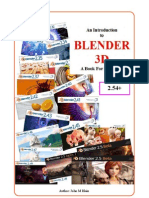An Introduction to Blender 3D - A Book for Beginners (2011)