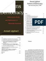 Patterns of Democracy Arend Lijphart
