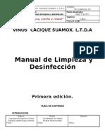 Manual de Limpieza y Desinfeccion.