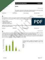 UERJ - COLETÂNEA DE QUESTÕES ANTERIORES (2013) FOLHA 2