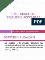 Desequilibrio ácidobase
