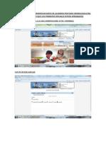 Procedimiento Para Modificar Datos de Alumnos Edad Cronologica Rm