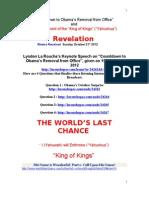 Revelation La Rouch Keynote Speech 21.10.2012