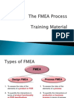 FMEA Process Training Material