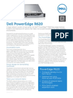 09. Dell PowerEdge R620 Spec Sheet