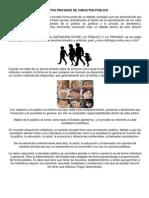 ASUNTOS PRIVADOS DE CARACTER PÚBLICO 3ER GRADO GPO A