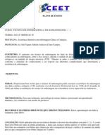 PLANO DE ENSINO ASSISTÊNCIA INTENSIVA EM ENFERMAGEM CLÍNICA E CIRÚRGICA