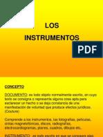 10- Los Instrumentos Publicos