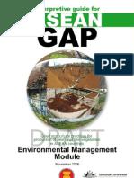 ASEAN GAP Interpretive Guide - Enviromental Management Module - DRAFT