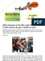 Abrir empresa na Paraíba custa R$ 963; valor é 212% menor do que a média no país