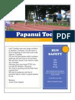 Newsletter 3- 22nd October 2012
