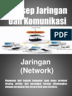 Konsep Jaringan Dan Komunikasi