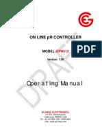 Online pH Controller DPH 513