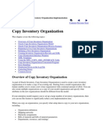 Oracle Inventory Copy Inventory Organization Implementation Guide