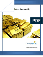 Daily Commodity Newsletter 22-10-2012