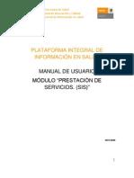 Manual de Usuario SIS en Plataforma 2010