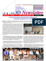 Synod Newsletter - October, 2012