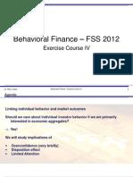 behav finance notes