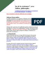 """A la recherche de la croissance"""", avec François Jullien, philosophe..."""