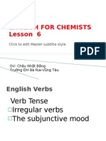 English for Chemists 6