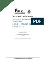 Liga Remaja Sponsor