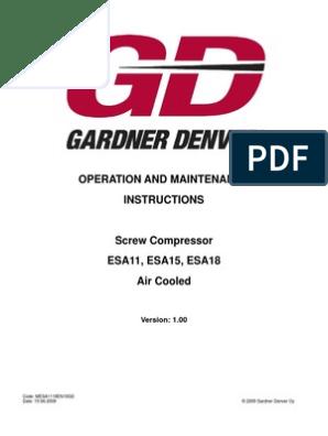 ESA11-18 | Gas Compressor | Valve on