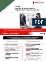 Resumen Ejecutivo del Estudio sobre seguridad de la información y continuidad de negocio en las empresas españolas