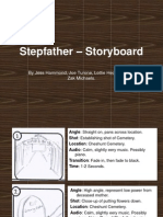 Stepfather – Storyboard
