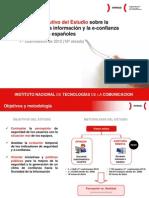 Resumen ejecutivo del Estudio sobre la seguridad de la información y la e-confianza de los hogares españoles (1er cuatrimestre de 2012)